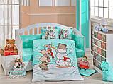 Детский комплект постельного белья  Poplin Snowball 100x150 (29320), фото 3