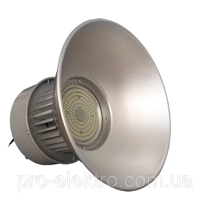Светильники для высоких пролётов EH-HB-3044 high-bay 100W Ø39, H:31см 120° 6500K 9000Lm