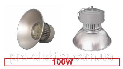 Светильники для высоких пролётов EH-HB-3044 high-bay 100W Ø39, H:31см 120° 6500K 9000Lm, фото 2