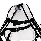 Белый спортивный рюкзак Nike с поясной поддержкой, фото 4