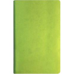 Деловая записная книжка А5, твердый переплет, белый нелинованный блок, фисташковая