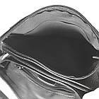 Мужская сумка из натуральной кожи с клапаном, малая, фото 5