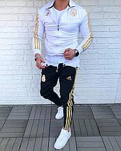 Мужской Спортивный Костюм в стиле Adidas / Турция(Размер S)