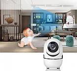 Бездротова поворотна IP камера WiFi microSD UKC Y13G 1mp з розпізнаванням осіб, фото 4