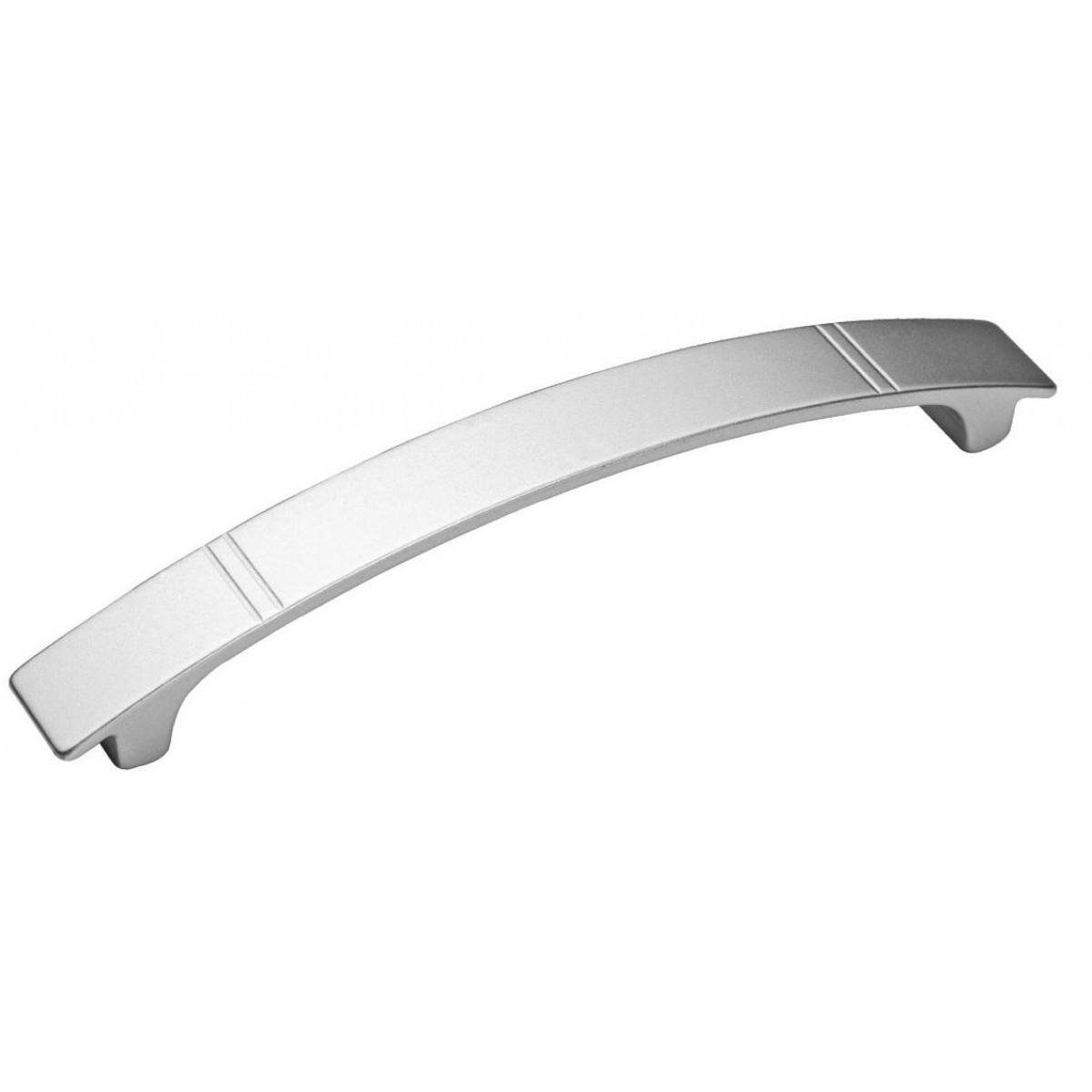 Ручка мебельная Ozkardesler ROZA 5168-03 128мм Матовый Хром