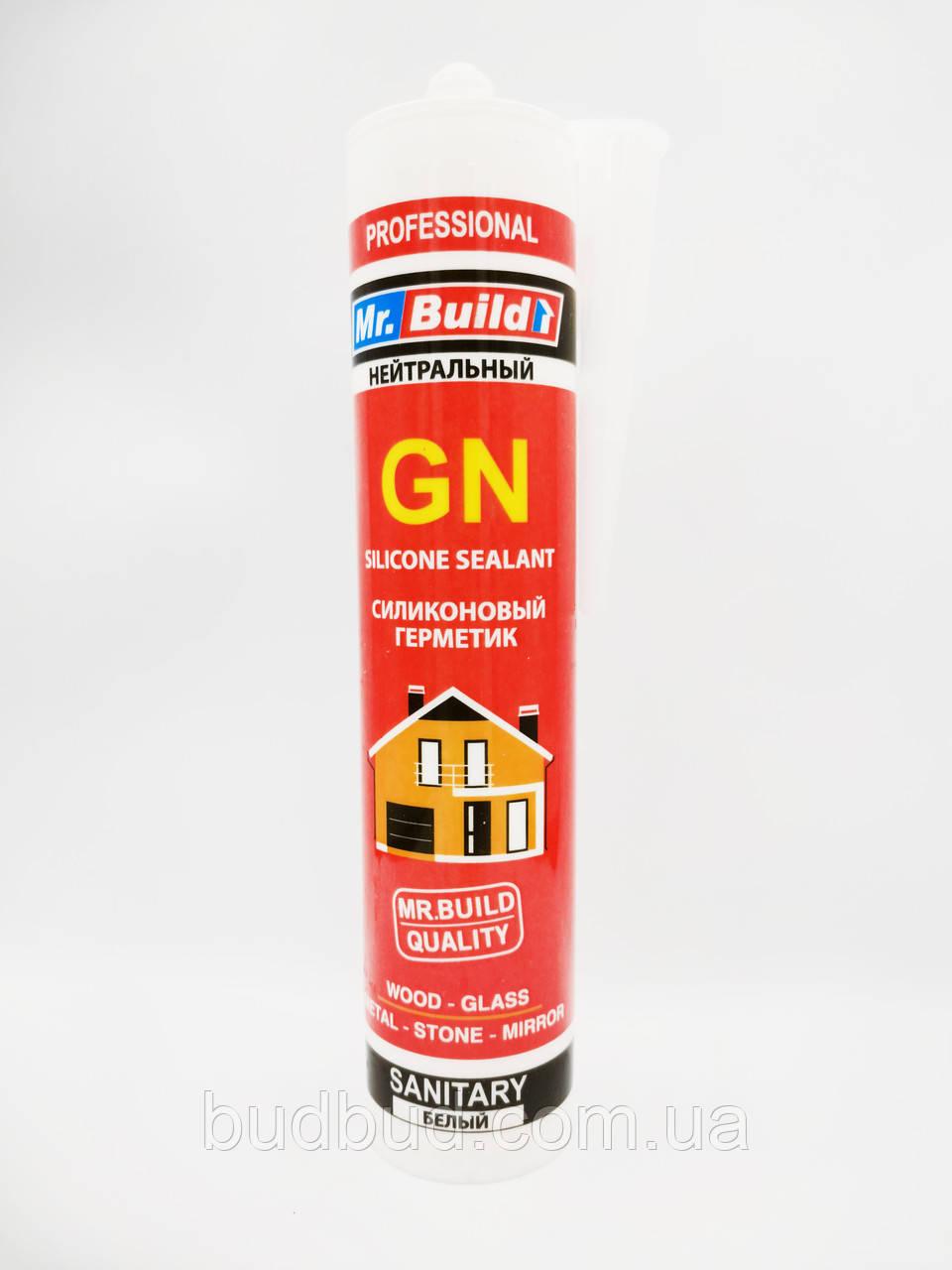 Mr.Build GN - нейтральный силиконовый герметик белый, 280 мл