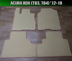 ЕВА коврики на Acura RDX (TB3, ТВ4) '12-18. Ковры EVA Акура РДХ