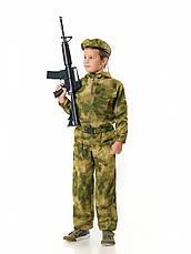 Комбинезон детский Пейнтбол для мальчиков камуфляж A-TACS рост 140 см, фото 3