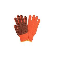 Рукавички х/б 10 кл.упл. помаранчеві