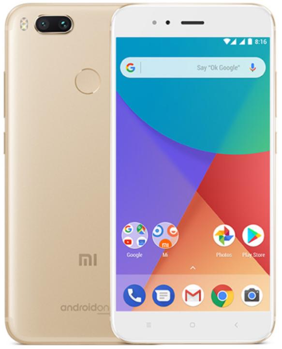 """Смартфон Xiaomi Mi A1 Gold 4/64 Gb, 5.5"""", Snapdragon 625, 3G, 4G"""