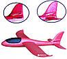 Самолёт Планер метательный Explosion Большой размах крыльев 49 см Красный, фото 3