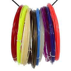 Набір ABS-пластику для 3D-ручки Kaiyiyuan нитка 1,75 mm (10 кольорів по 10 метрів)