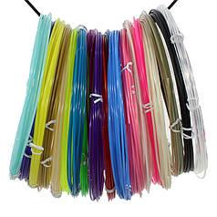 Набір ABS-пластику для 3D-ручки Kaiyiyuan нитка 1,75 mm (20 кольорів по 10 метрів)