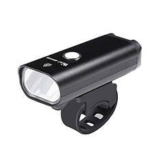 Фара велосипедная West Biking 0701257 Black металлическая велофара яркий фонарь аккумуляторная LED