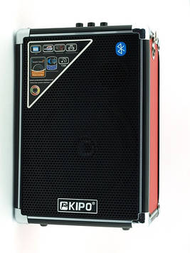 Колонка-чемодан с караоке Kipo KB-Q2