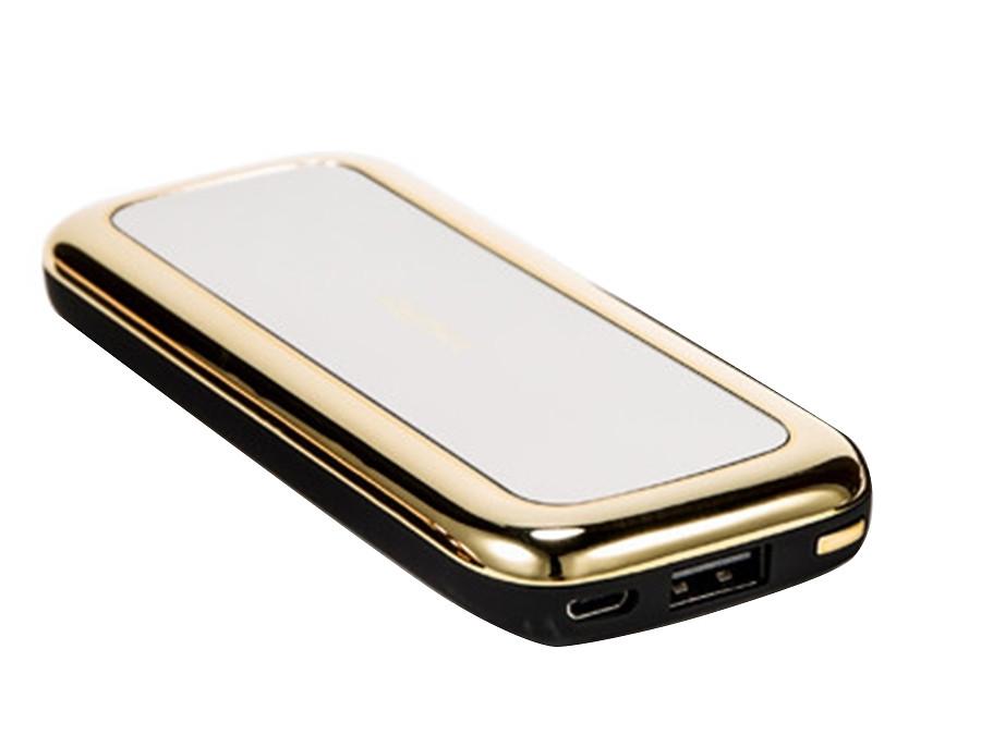 Внешний аккумулятор Power Bank Mirror 50000 mAh  (черный, золото)