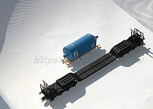 Fleischmann 5299K модель 8ми осного транспортера з вантажем, масштабу Н0 1:87