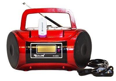 Радиоприемник колонка Golon RX 662Q Бумбокс радиоприемник MP3  + USB