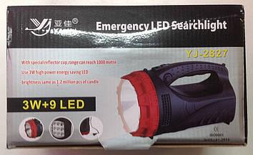 Светодиодный аккумуляторный фонарь Yajia YJ 2827