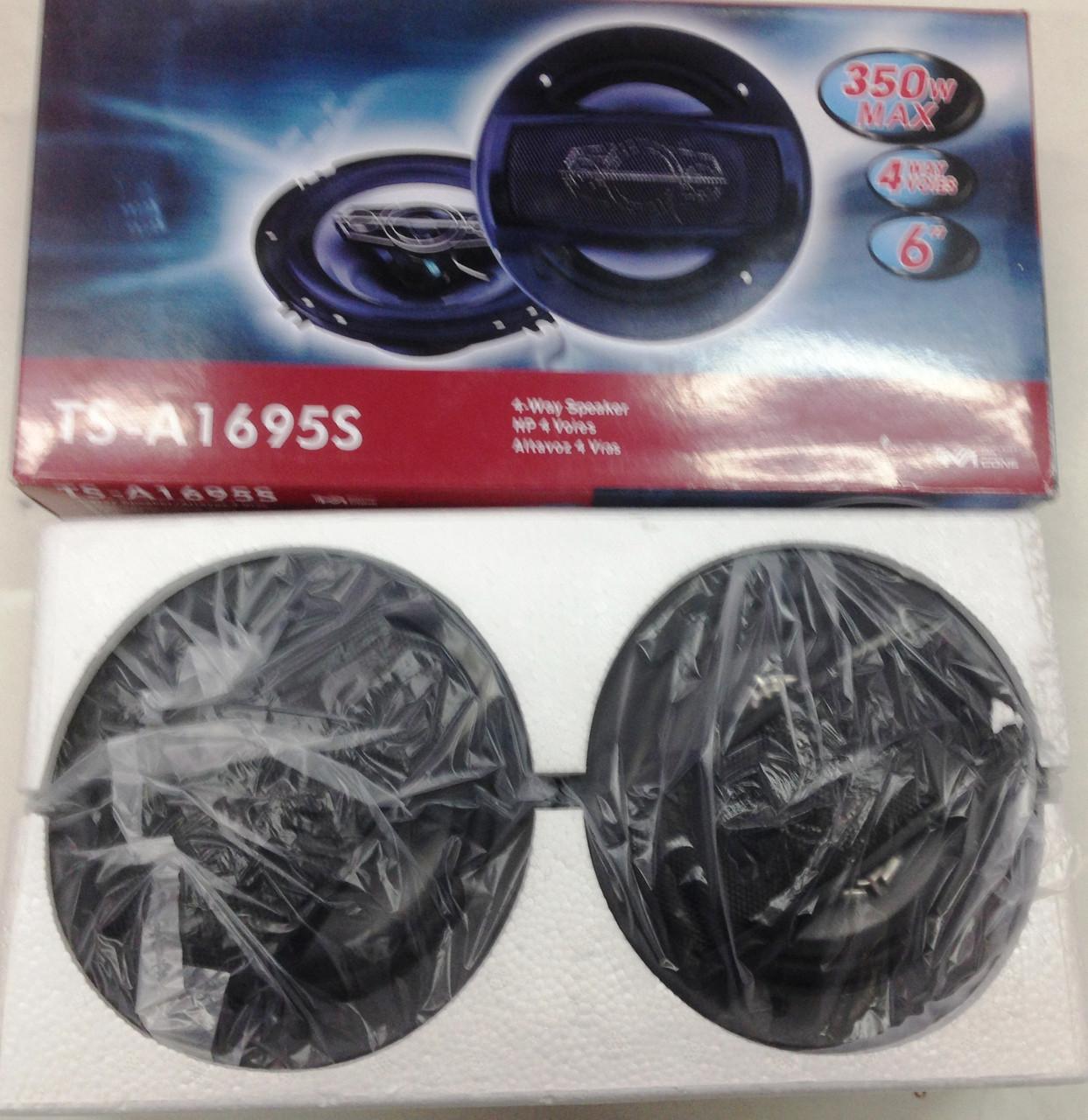 Автомобильная акустика Pioneer TS-A1695S 16см 350W 2-х полосные реплика