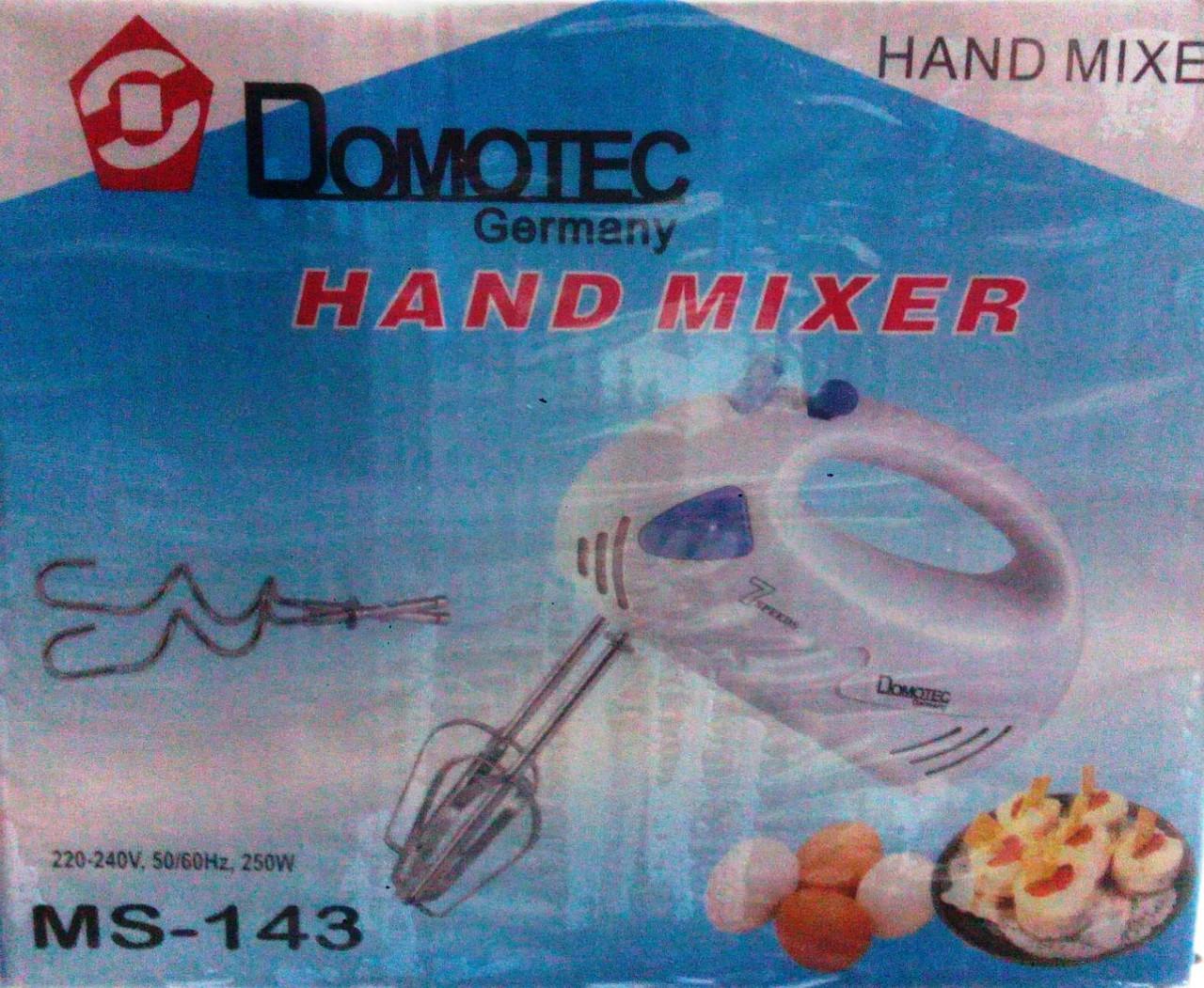 Миксер Домотек 143