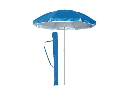 Пляжный зонт с наклоном 200 см Umbrella Anti-UV ромашка синий
