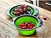 Дуршлаг складной силиконовый для овощей и фруктов Kitchen Craft 092, фото 4
