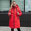 Куртка женская осень-весна больших размеров   50-60 розовый, фото 3