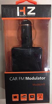 Трансмиттер FM MOD. H9, FM модулятор, авто трансмиттер, ФМ трансмиттер