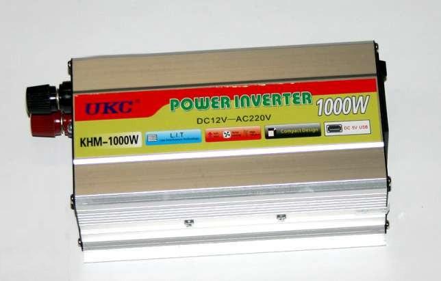 Преобразователь авто инвертор-UKC KHM-1000W 12/220