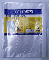 Файл для бумаг прозрачный Economix А4 30 мкм 100 шт