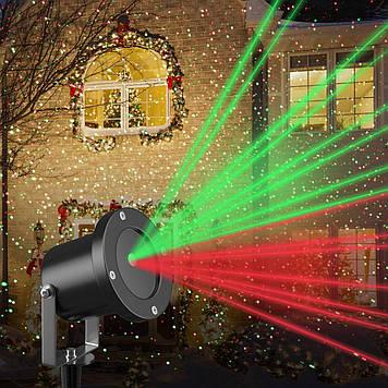 Лазерный проектор Star Shower laser light №85 поворотная ножка