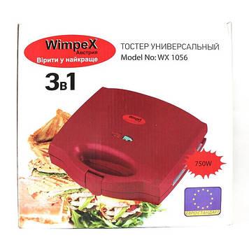 Тостер бутербродница гриль ToasterWimpex Wx1056