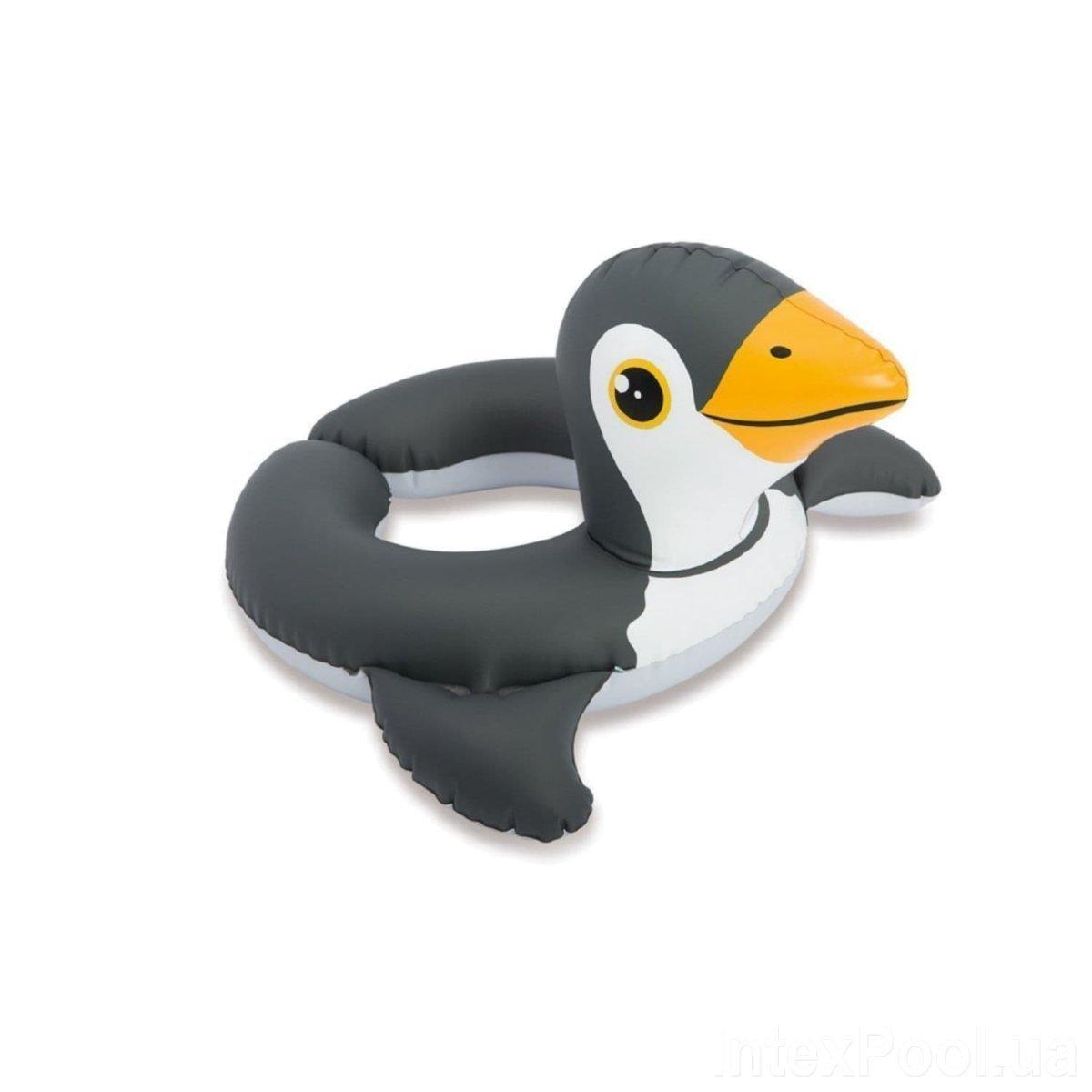 Круг надувной безразмерный Intex 59220 «Пингвин», 64 х 64 см