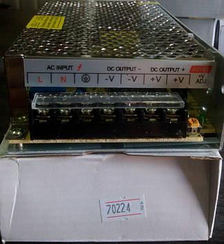 Блок питания LED 12V 10A  S-120-12
