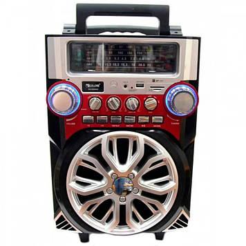 Мобильная акустическая система Golon RX-2099 с аккумулятором, блютуз, караоке микрофон, mp3