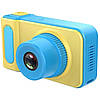 Детский фотоаппарат с экраном синий SMART KIDS CAMERA V7, фото 2