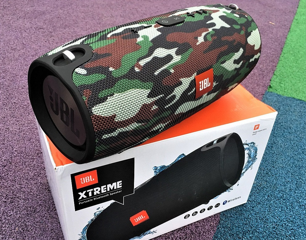Колонка JBL XTREME Bluetooth беспроводная портативная MP3 Wireless экстрим (качественная копия JBL) камуфляж