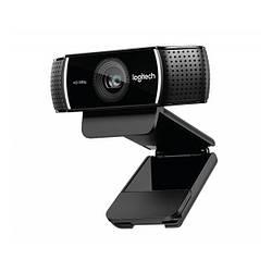 Веб-камера з мікрофоном Logitech C922 Pro Stream (960-001088) Black