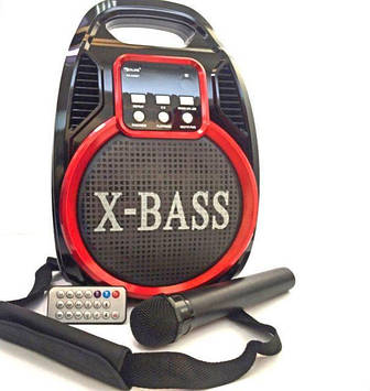 Колонка-комбик GOLON RX-810 BT с микрофоном караоке и ДУ пультом