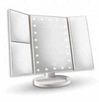 Зеркало с LED подсветкой для макияжа Superstar Magnifying Mirror лед