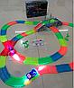 Мэджик Трек Magic Tracks - 360 деталей с мостом и 2 гоночные машинки и перекресток, фото 2