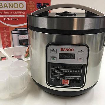 Мультиварка с йогуртницей Banoo BN-7002 6 л 1500 Вт 24 программ