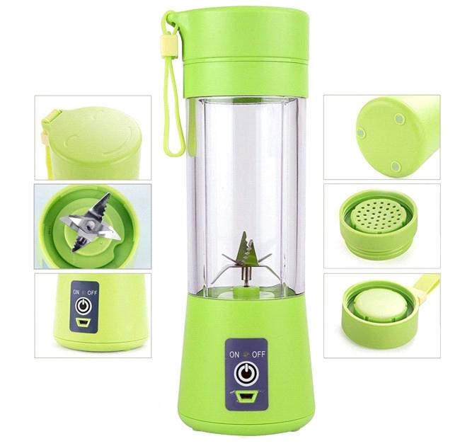 Блендер Juice Cup Fruits B77 аккумуляторный USB зеленый