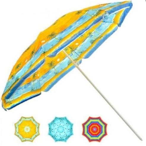 Пляжный зонт с наклоном 200 см Umbrella Anti-UV