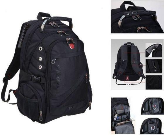 Рюкзак Swissgear 8810 Оригинал с AUX и USB Городской водозащитный