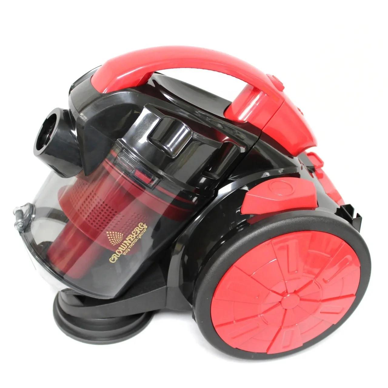 Пылесос Vacuum Cleaner Crownberg CB 0111 2400W красный