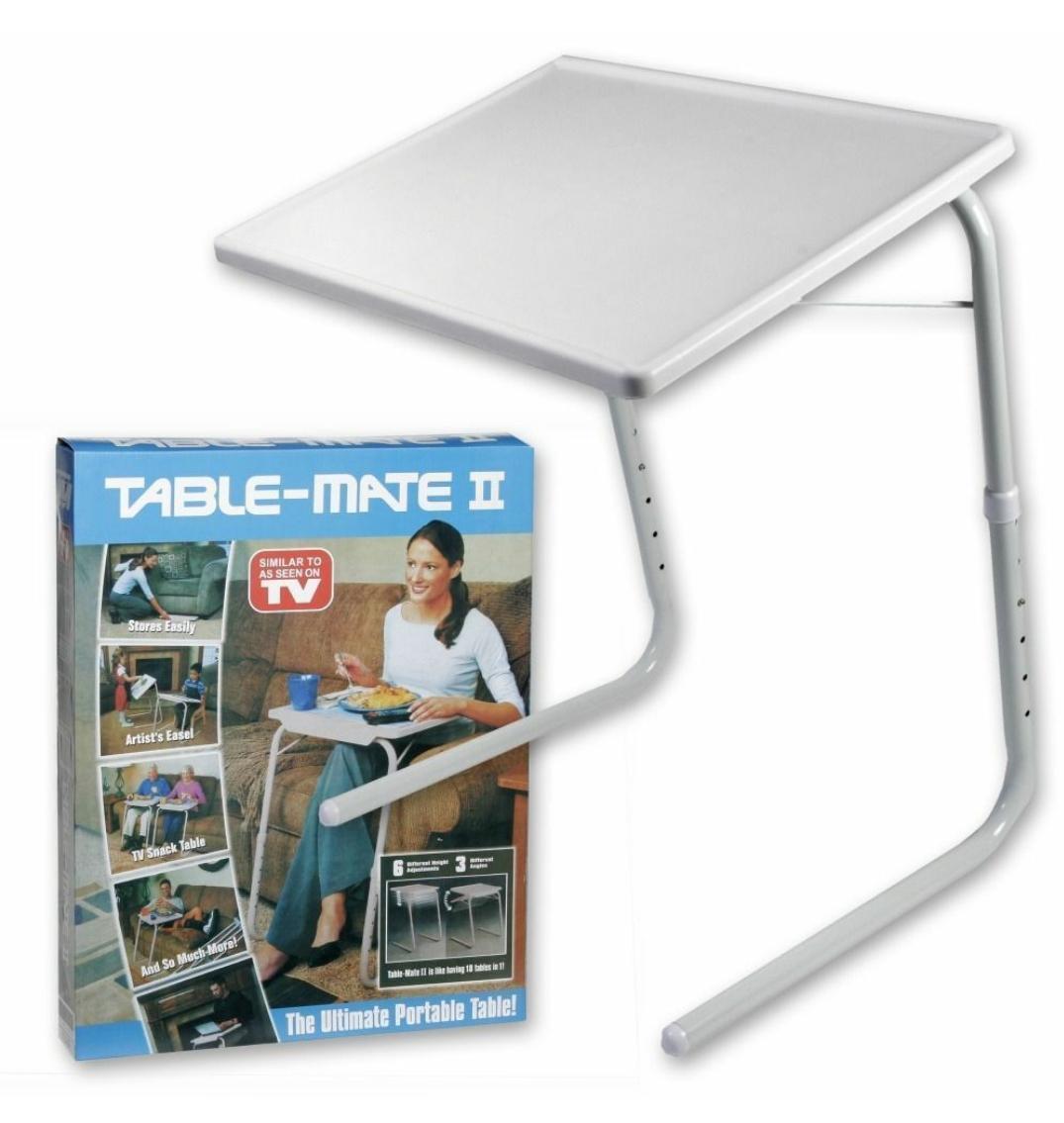 Мобильный складной столик для ноутбука и еды Table Mate 2