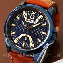 Curren 8379 Blue-Brown