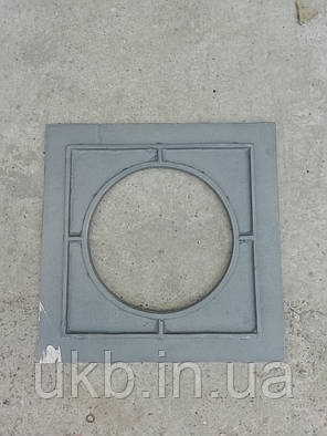 Плита чугунная для Казан 500*500 мм (23кг) / Плита чавунна до Казана 500*500мм (23кг), фото 2